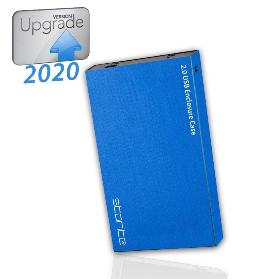 Blue- Portable Hard Drive – 320GB