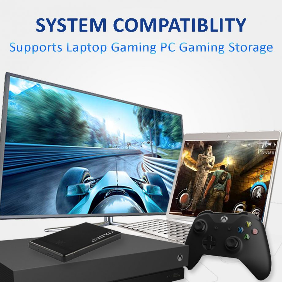 External Hard Drive for Gaming – XBOX, PS3 , PS4 , Laptop Games, PC Games 03