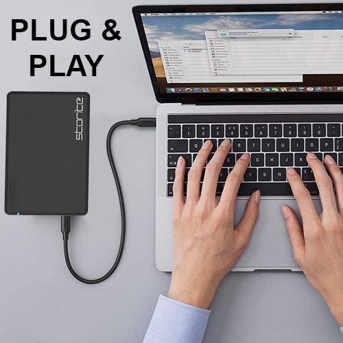 External Light Weight Hard Drive 2.0 USB–02