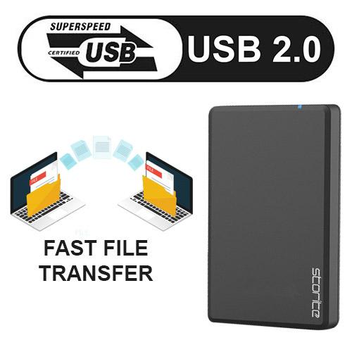 External Light Weight Hard Drive 2.0 USB–03
