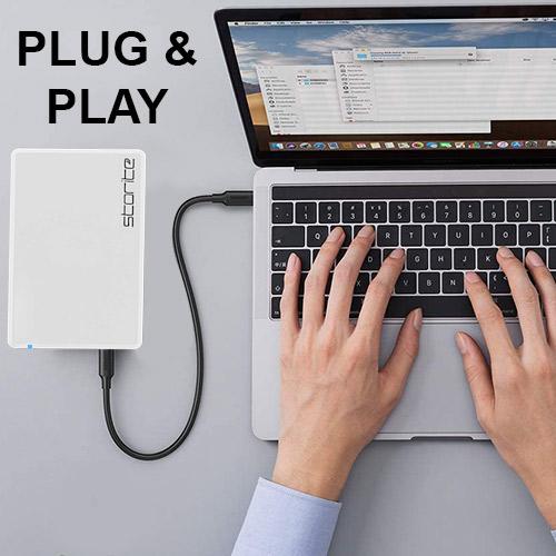 Portable External Hard Drive 2.0 USB (WHITE) 03