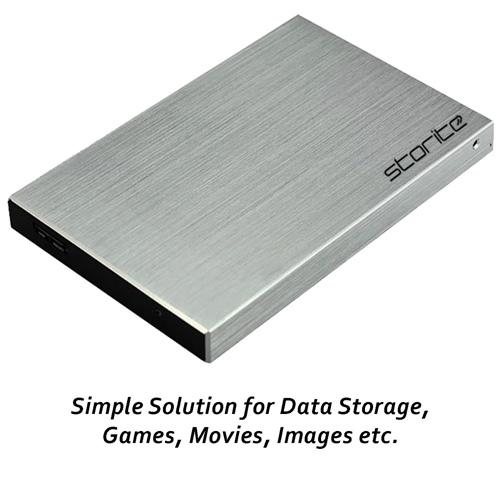 Portable External Hard Drive, 2.5″ 2.0 USB (Silver) 04