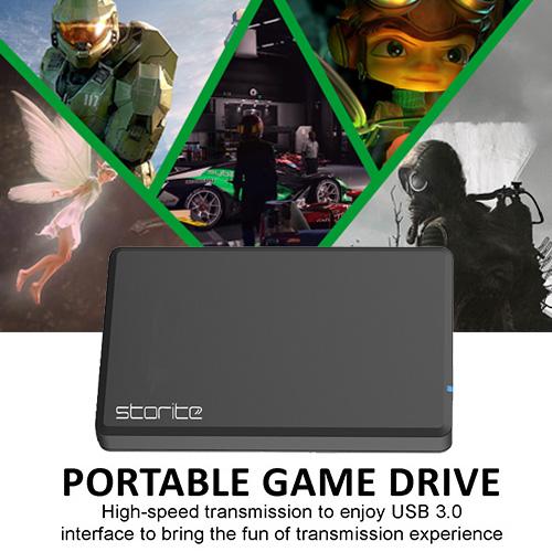 Portable Gaming Hard Drive – USB 3.0 (Black) 01