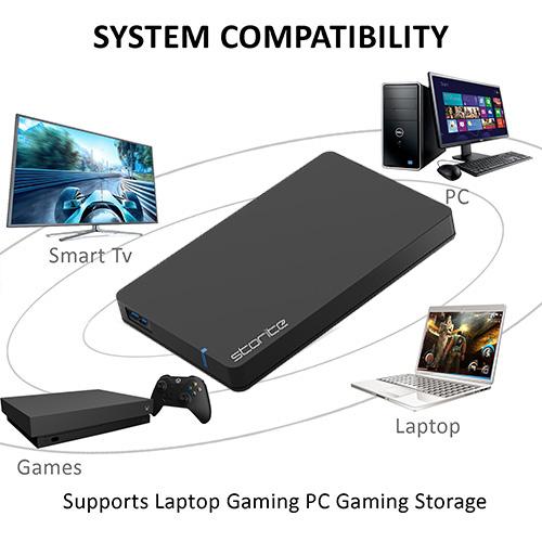 Portable Gaming Hard Drive – USB 3.0 (Black) 04