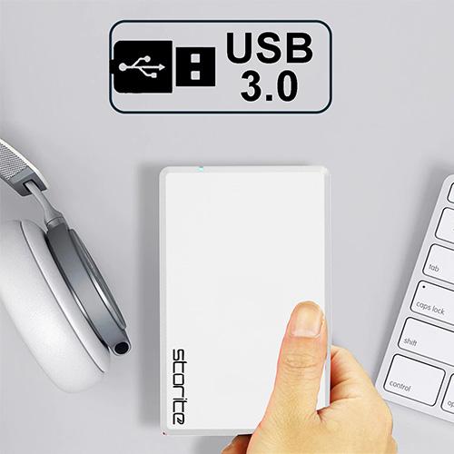 Portable Gaming Hard Drive – USB 3.0 (White) 02