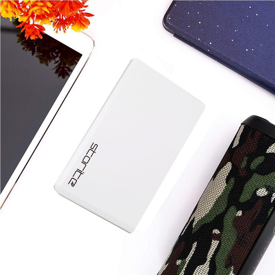 Portable Hard Drive – 500GB (White) 02