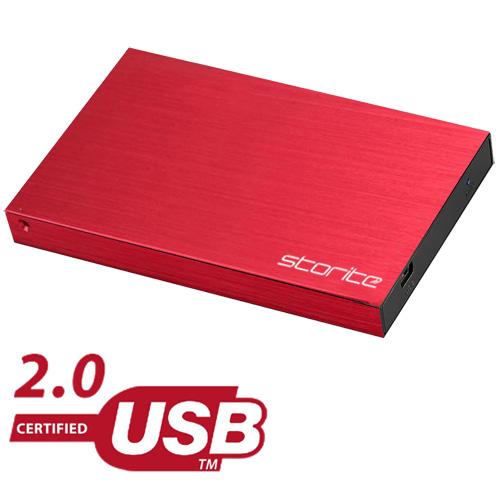 Portable Hard Drive, 2.0 USB (RED) 04